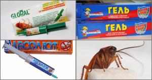 гели от тараканов
